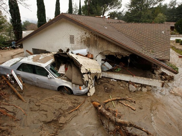 Death toll from California mudslide rises to 17