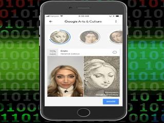 New art look-alike app spurs privacy concerns