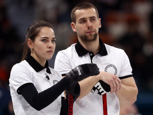 Canada loses first draw in Olympic mixed doubles curling