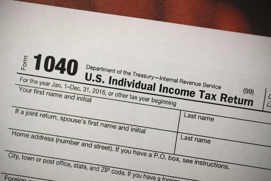 Irs Shrinks The 1040 Tax Form Kshb 41 Action News