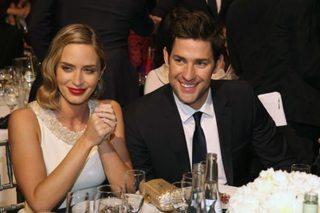 John Krasinski, Emily Blunt offer a double date