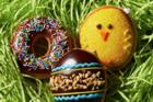 Krispy Kreme has a peanut butter egg doughnut