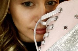 Miley Cyrus unveils new Converse collection