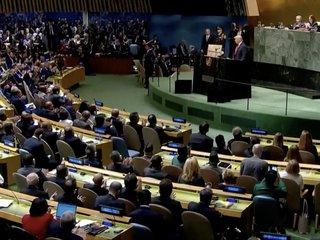Trump hits Iran hard during UN speech