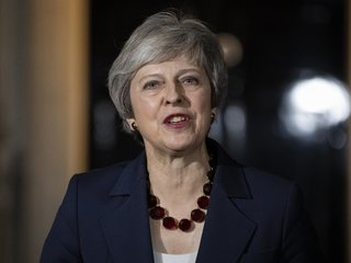 Theresa May suffers setback as Brexit Secy quits