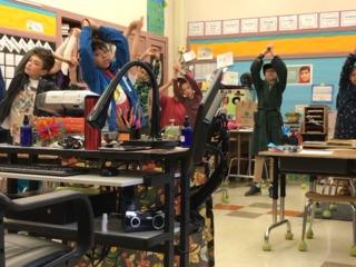 Schools use yoga to improve behavior